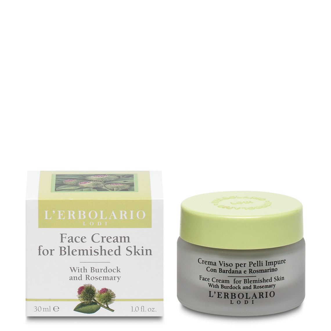 Burdock root facial cream
